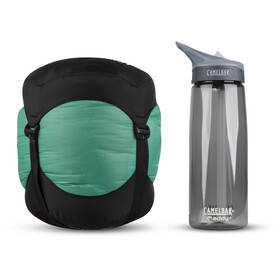Sea to Summit Journey JoII Sac de couchage Long Femme, emerald/peacock